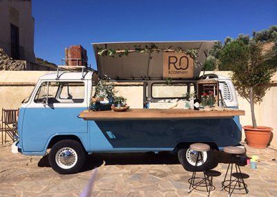 Lateral del food truck