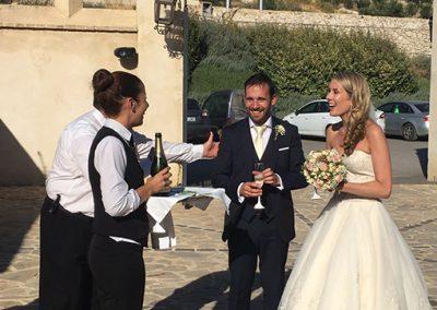 bienvenida de boda