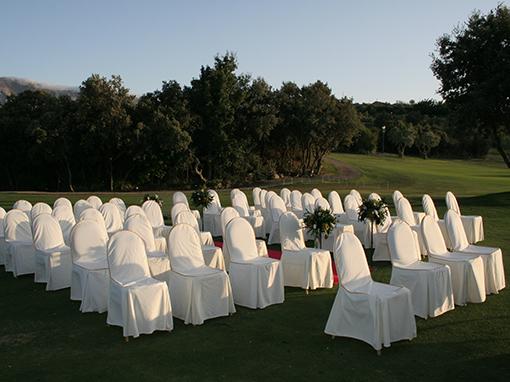 sillas para eventos del campo antequera golf