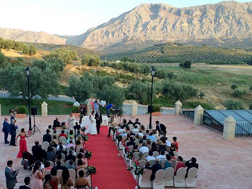 boda frente al torcal en hotel convento la magdalena