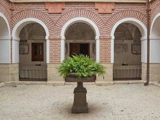 patio interior del hotel convento la magdalena