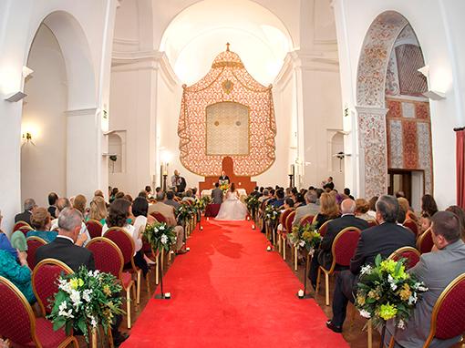 boda civil en hotel convento la magdalena