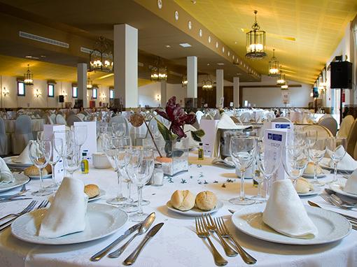 mesas elegantes en hacienda la magdalena