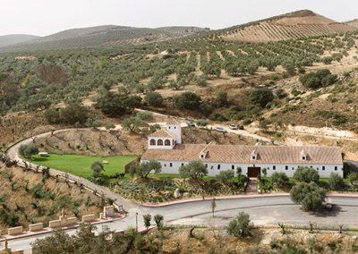 Hacienda La Magdalena paisaje