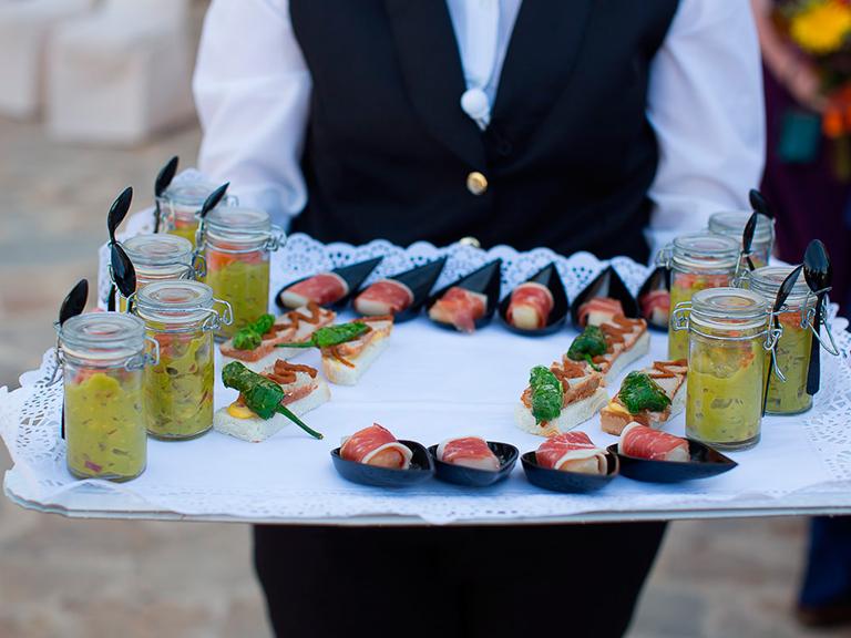 aperitivos de boda