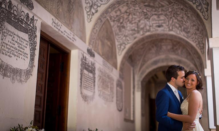 boda irlandesa en el claustro