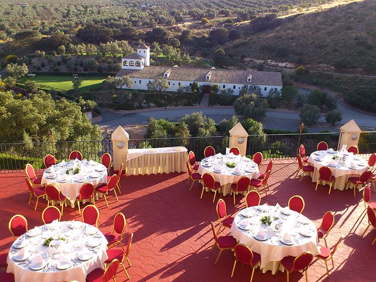 terraza del hotel convento la magdalena