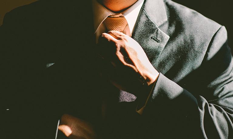 corbata para eventos de empresa