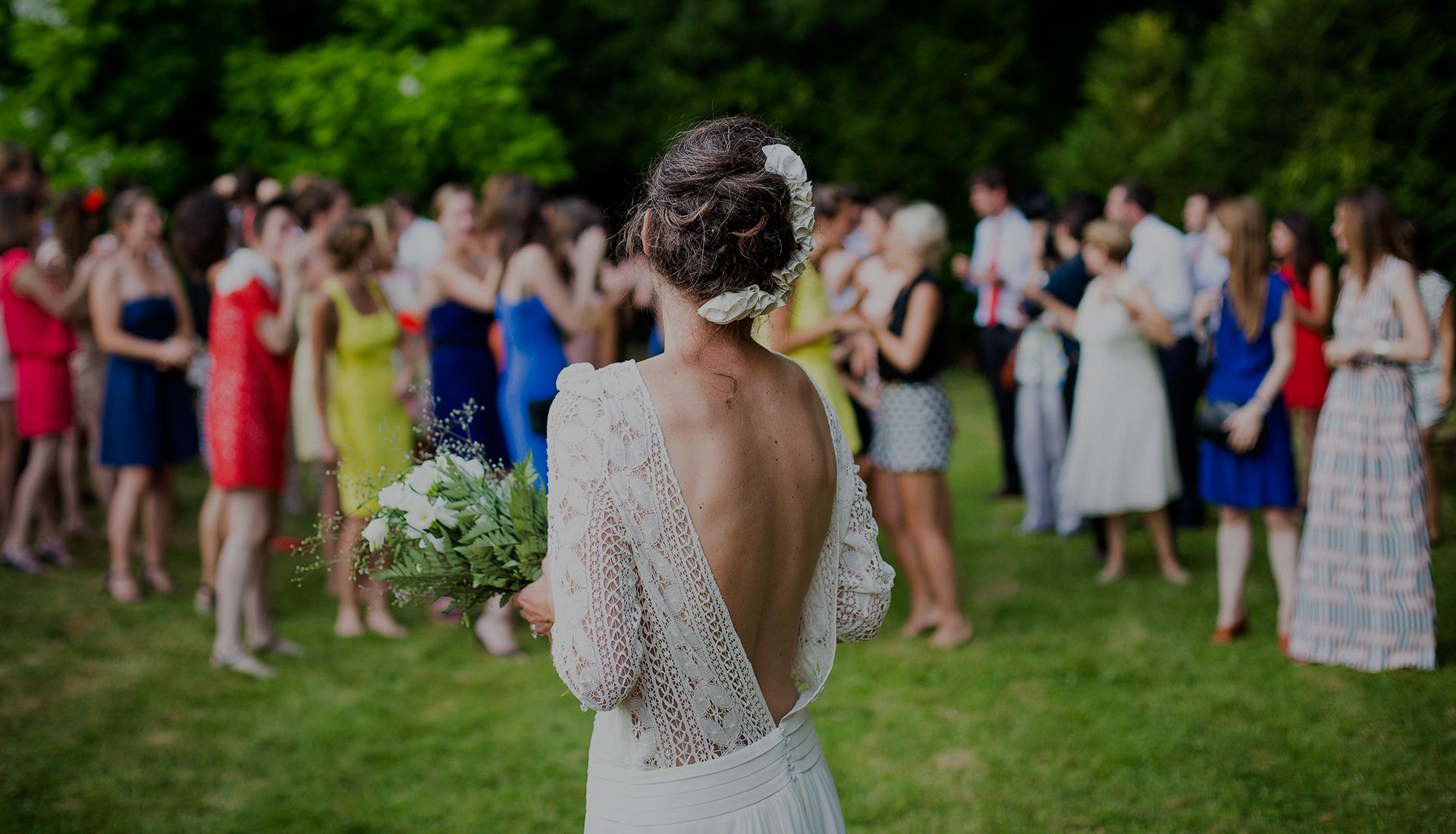 novia en boda