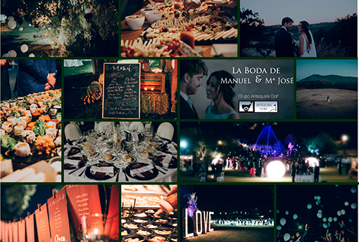 celebración de la boda de Manuel y MªJosé