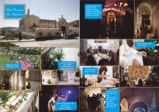artículo de la boda de Josemaría y Mariola