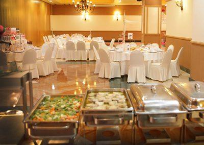 salón buffet